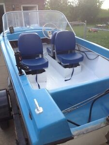 A LUCK ! Hurry ! Mastercraft fishing boat 1984 with trailer!