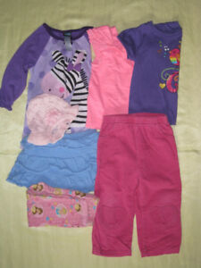 Lot of girl's clothes 2T