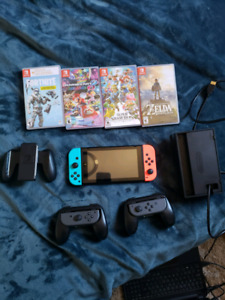 Nintendo Switch + games/accessories