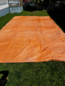 Large insulated tarp