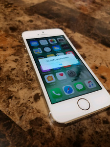 iphone 5s 16gb Gold Telus like new