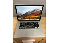 "Apple MacBook Pro 15"" Mid 2015 corei7 2.5Ghz/16gb/512ssd"