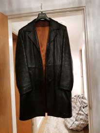 Mens leather jacket.