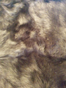 Faux Fur Wolf Throw - Pottery Barn
