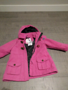 Girl winter jacket- brand new with tag