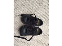 Size 3 all black converse toddler