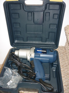 Mastercraft 7.5A Impact Wrench, 1/2-in  NEW