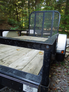 5 X 10 Heavy Duty PJ utility trailer