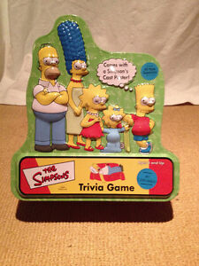 SIMPSONS TRIVIA GAME North Shore Greater Vancouver Area image 1