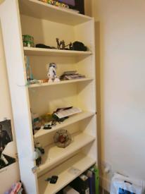 IKEA Billy white bookshelf