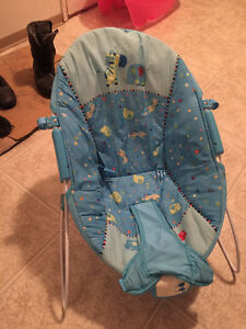 Baby Bouncer with Music and Vibrating - Excellent Condition