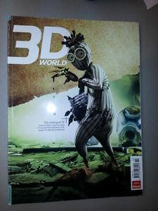 3D magasines - de nombreux magazines sur le sujet 3D Gatineau Ottawa / Gatineau Area image 4