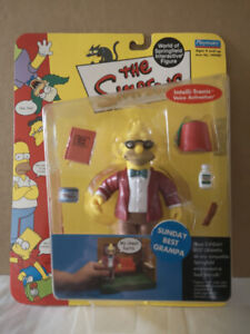 The Simpsons Playmates Sunday Best Grampa Serie #9