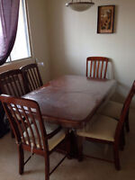 Dinning set (Table+ 6 Chairs)