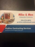 PROLINE CONTRACTING SERVICES