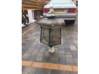 Vintage street lamp top