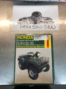 Workshop Manuals for Honda ATV'S
