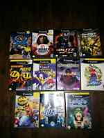 GameCube games for sell or trade.