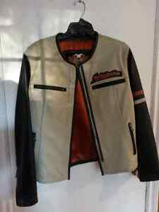 Ladies large Harley Davidson leather jacket