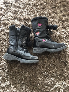Girls Size 11 Totes Winter Boots