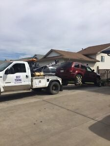 Always get a quote for a tow truck