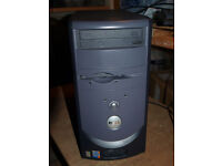 Dell Desktop Computer with monitor, keyboard and mouse
