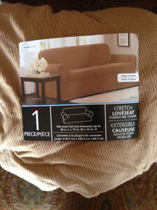 Love seat and chair cover
