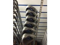 CALLAWAY X16 IRONS 6-SW. STEEL SHAFTS. GOOD CONDITION