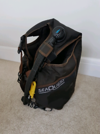 Diving BCD Seaquest size small