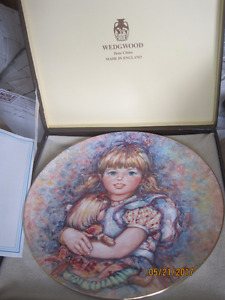 little lady collector plates