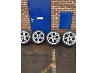 "18"" alloy wheels 5x112 swap"