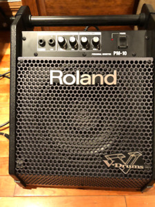 Roland PM 10, ampli de drum électronique.