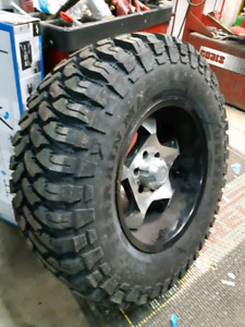 NEW LT35X12.5R20 COMFORSER MUD WINTER RATED TIRES