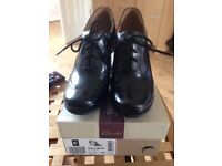 Brand new black clarks ladies shoes