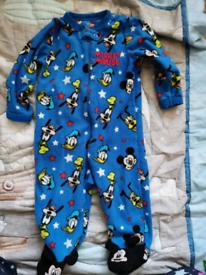 9-12 months sleepsuit
