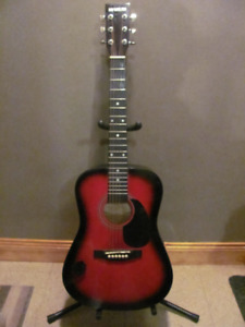 New York Pro 3/4 acoustic guitar $48