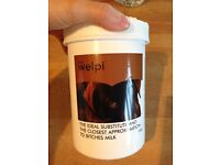 Unopened powder milk for puppies