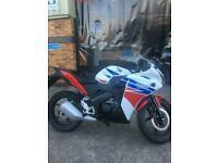 Honda CBR125R 125cc geared sports bike mint condition just 1323 miles!!!
