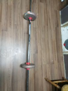 Weight bar with 20 lbs