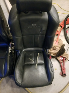 G35 coupe front seats