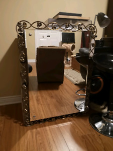 Antique brass mirror  50$ OBO