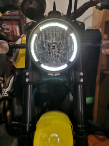 2015 Ducati Scrambler Icon with Termignoni exhaust
