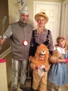 Wizard of Oz Family costumes set