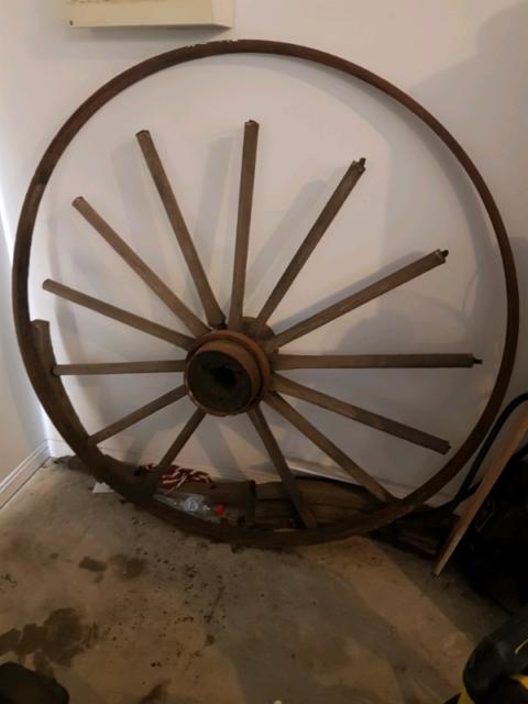 Antique Wagon Wheel | Collectables | Gumtree Australia