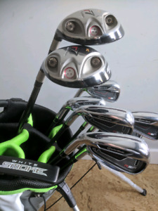Mint TaylorMade LH RSi 1 Irons, 3w, 5w, TM putter, Ogio Bag