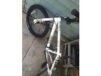 "20"" girls bike repair missing back wheel"