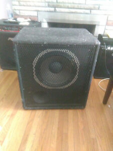 Peavy TKO 115 Bass amplifier and stage speaker London Ontario image 2
