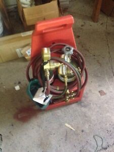 Portable oxy acetylene Torch Kit