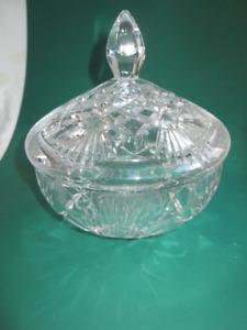 Bonbonnière en crystal