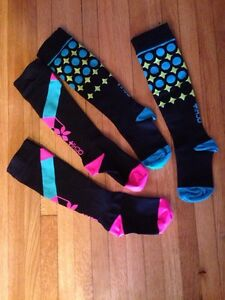 Lunatic Athletiks ACHI + Compression Socks look and feel good